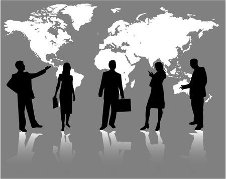Business concept - vector work
