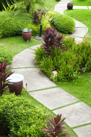 Oriental Garden view at A'Famosa Malacca, Malaysia