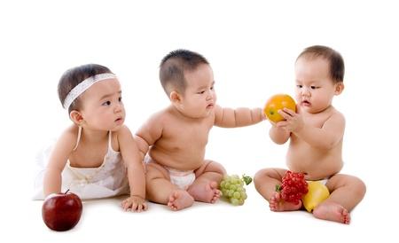 Foto de healthy asian babies - Imagen libre de derechos