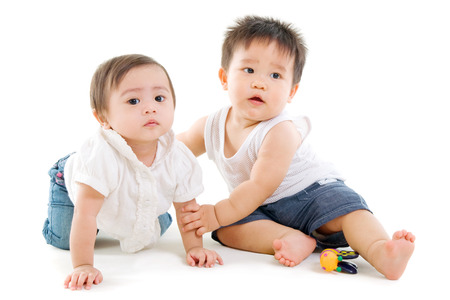 Photo for Asian babies - Royalty Free Image