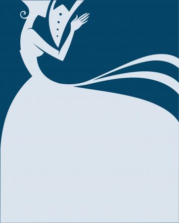 Foto de wedding greeting card - Imagen libre de derechos