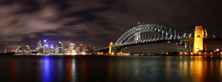 Photo for City at night  Sydney, Australia   - Royalty Free Image