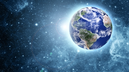 Beautiful Blue Planet