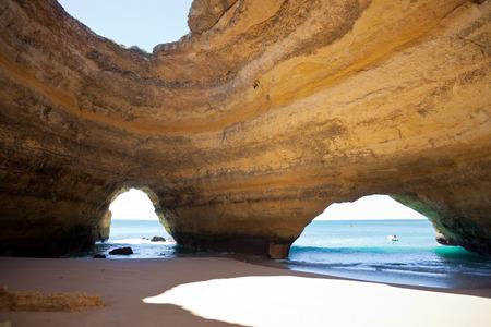 Beach of Benagil in Algarve, Portugal