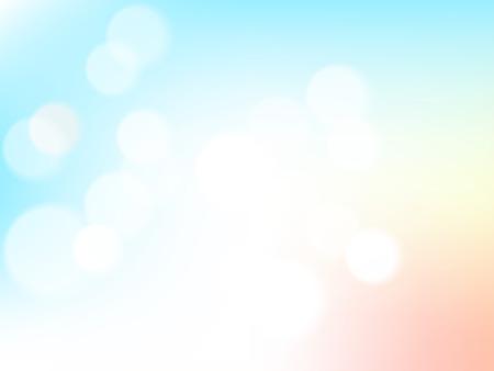 Illustration pour Abstrack blurred bokeh on pastel vintage background. - image libre de droit