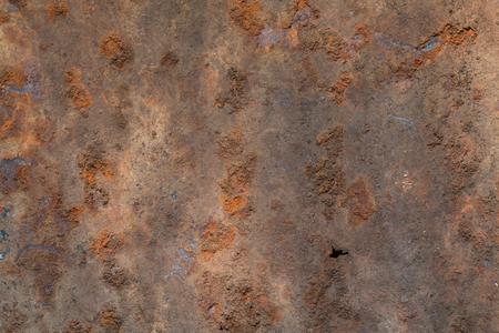 Photo pour Rusty Metal Roof texture abstract background. - image libre de droit