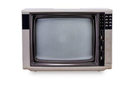 Foto für Television vintage style isolated on white background - Lizenzfreies Bild
