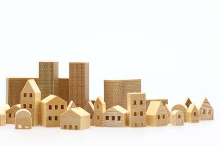 Photo pour Model of the house - image libre de droit