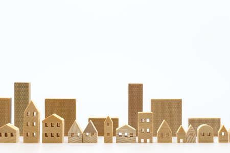 Foto de Miniature model of house - Imagen libre de derechos