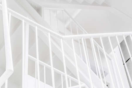 Photo pour Refreshing colored outer stairs - image libre de droit