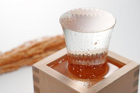 Photo pour Well-chilled delicious sake - image libre de droit