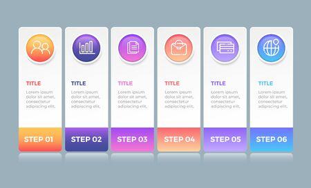 Illustration pour Business Infographic design - image libre de droit