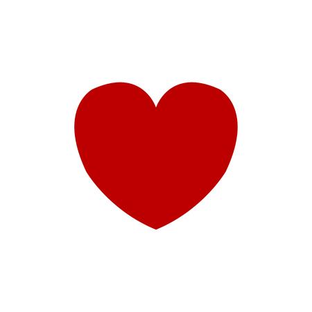 Illustration pour heart icon vector. love icon. valentine icon. Vector illustration - image libre de droit