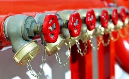 Photo pour installation of fire safety - image libre de droit