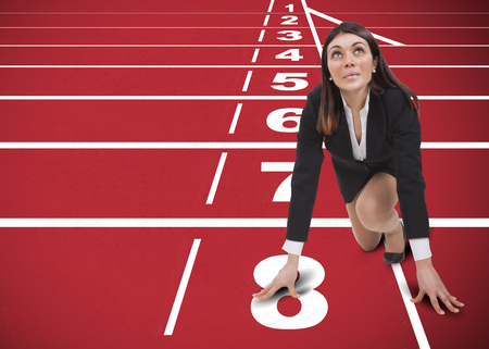 start up woman on track for challenge of the company