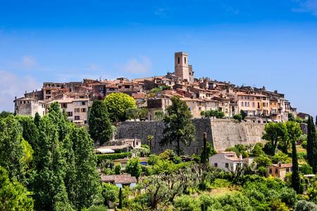 Saint Paul de Vence, a historic village in Nice, France