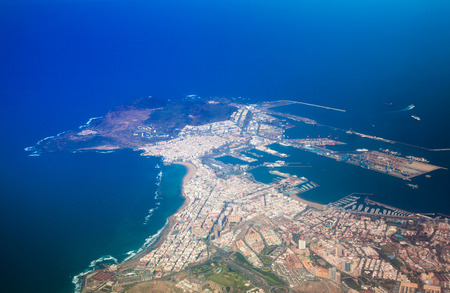 Las Palmas de Gran Canaria from the air