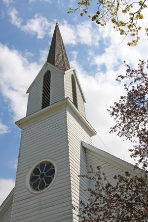 Historic St. Paul's Lutheran Church in Bremen Indiana