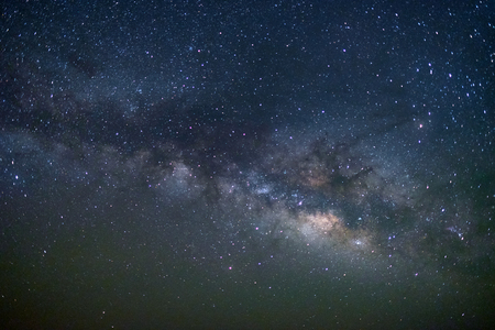 Milky way galaxy at Tar desert, Jaisalmer, India. Astro photography.