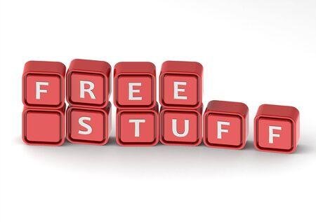 Cubes: free stuff