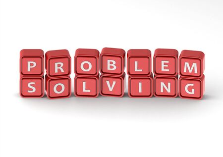 Foto de Cubes: problem solving - Imagen libre de derechos
