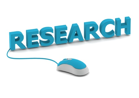Research and computer mouse