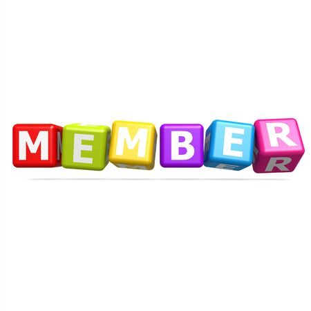 Cube puzzle member