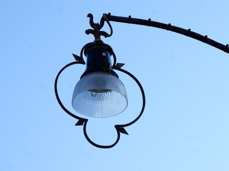 Street lamp in Burano, Venice