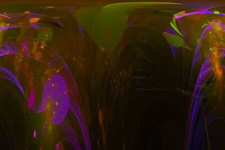 Photo for abstract digital fractal - Royalty Free Image