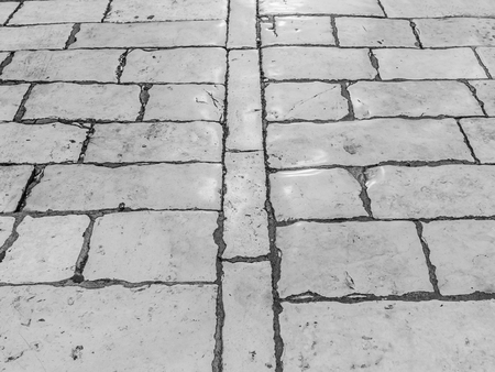 Photo for Stone pavement texture. - Royalty Free Image