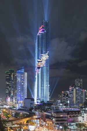 Mahanakhon grand opening in Bangkok, Thailand