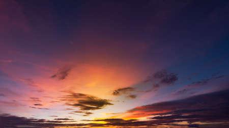 Photo pour Colorful sky backgound.  Beautiful color in the sky. - image libre de droit