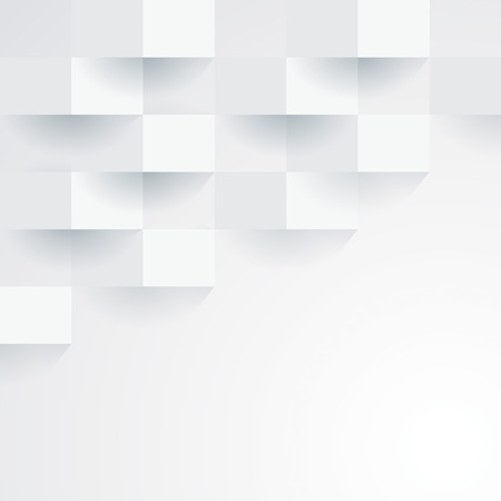 White geometric wallpaper background