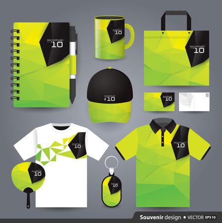 Foto de Gift set template, Corporate identity design  - Imagen libre de derechos