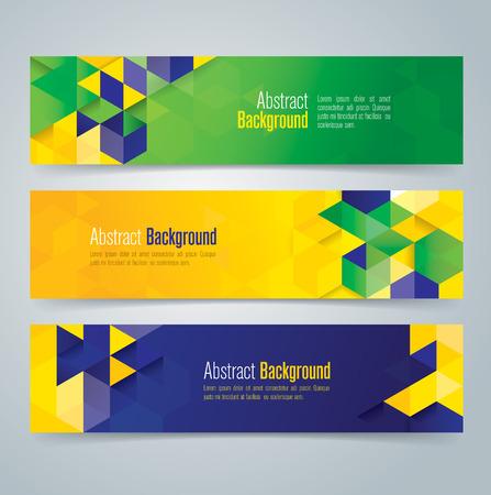 Collection banner design vector