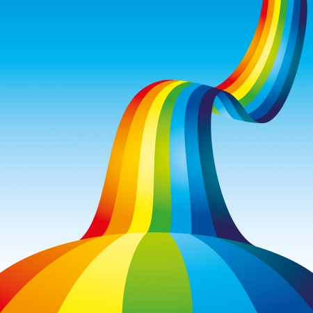 Background rainbow