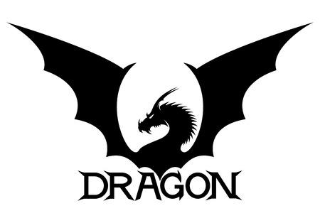 Illustration for Dragon. - Royalty Free Image