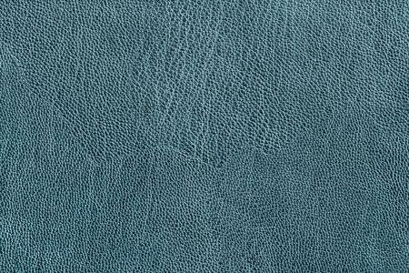 Photo pour Blue leather texture closeup as a background - image libre de droit
