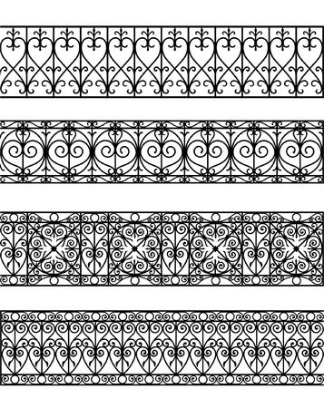 vintage border set for design