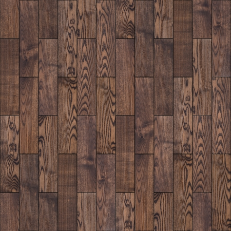 Brown Wood Parquet Floor  Highly Detailed Seamless Tileable Texture
