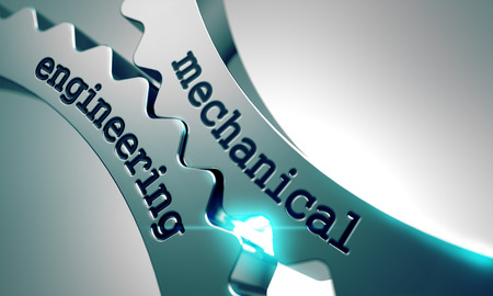 Mechanical Engineering on the Mechanism of Metal Gears.
