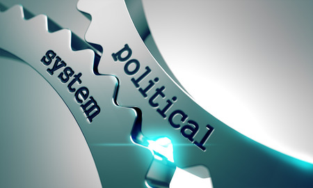 Political System on the Mechanism of Metal Gears.
