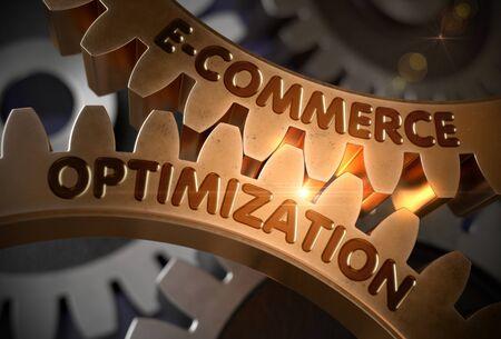 E-Commerce Optimization. 3D.