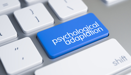 Psychological Adaptation on the Blue Keyboard Button.