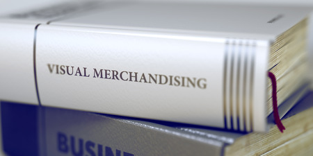 Foto de Book Title on the Spine - Visual Merchandising. 3D. - Imagen libre de derechos