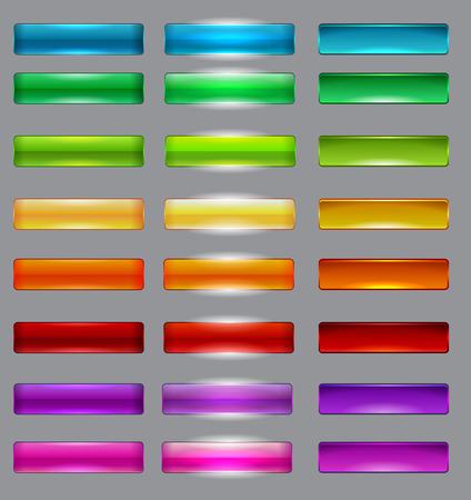 Ilustración de colorful button - Imagen libre de derechos