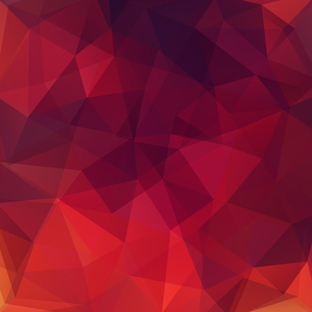 Illustration pour abstract background consisting of triangles, vector illustration - image libre de droit