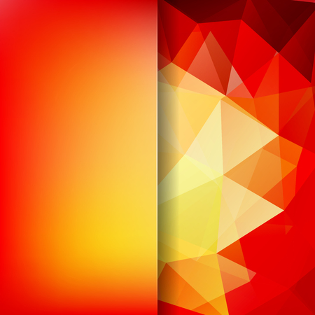 Illustration pour Abstract background consisting of triangles. Geometric design for business presentations or web template banner flyer. Vector illustration - image libre de droit