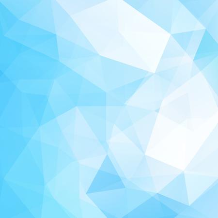 Illustration pour Abstract polygonal vector background. Blue geometric vector illustration. Creative design template. - image libre de droit