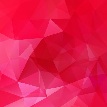 Illustration pour Abstract polygonal vector background. Red geometric vector illustration. Creative design template. - image libre de droit